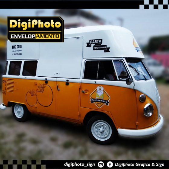 Envelopamento Kombi Food Truck