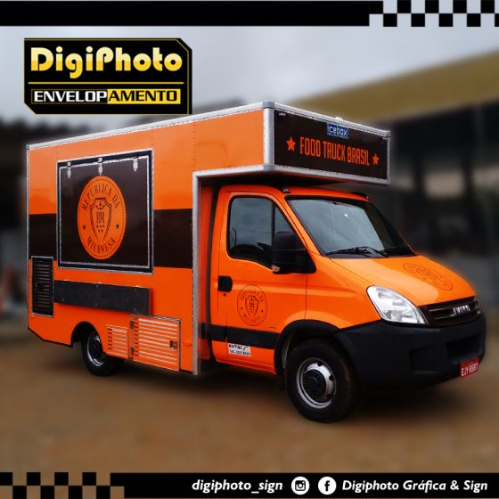 Envelopamento Truck Van – Republica da Milanesa