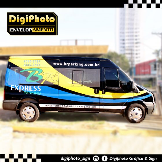 Envelopamento Vans BR Parking